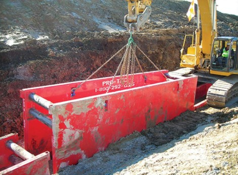 Trench Shoring Boxes Trench Shoring Shields